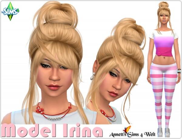 Annett`s Sims 4 Welt: Model Irina