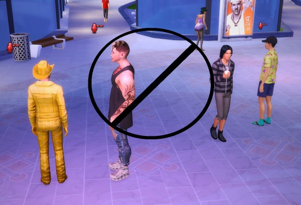 Mod The Sims: No making enemies for Farting and Belching by Manderz0630