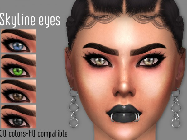 The Sims Resource: Sharareh: Skyline eyes
