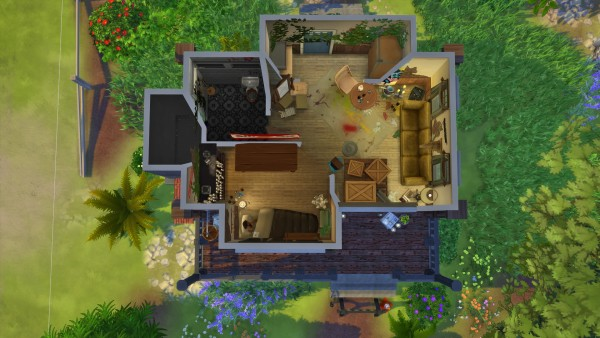 Les Sims 4 Abandoned House Sims 4 Downloads