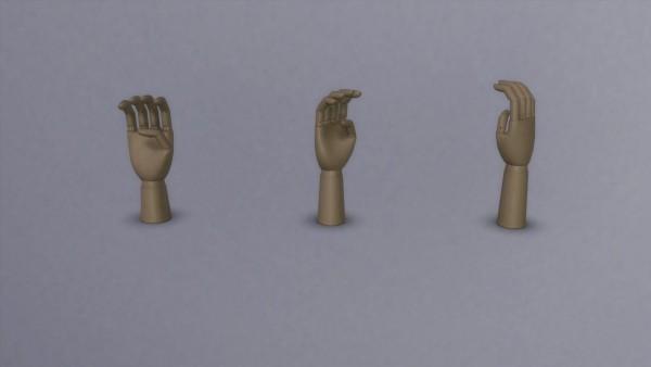 Meinkatz Creations: Wooden Hand by Hay