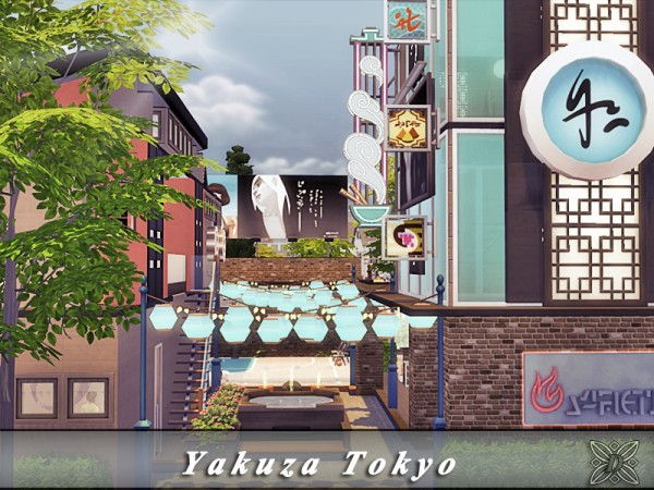 The Sims Resource: Yakuza Tokyo by Danuta720