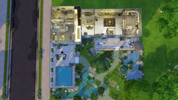 Sims Artists: Campagne et chic house