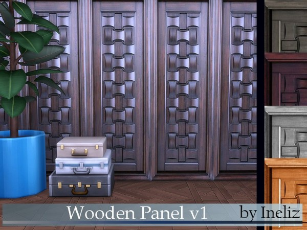 The Sims Resource: Wooden Panel v1 by Ineliz
