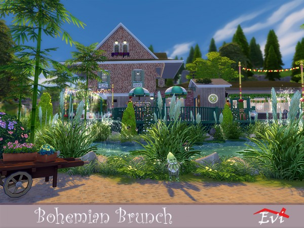 The Sims Resource: Bohemian Brunch by evi