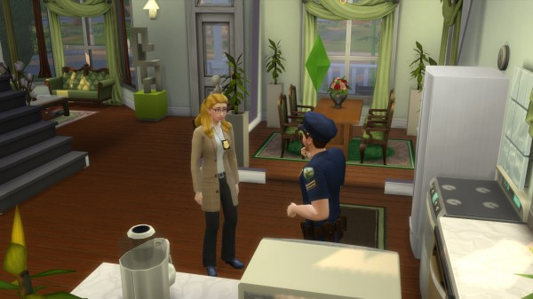 Mod The Sims: Special agent uniform like sims freeplay by novalpangestik