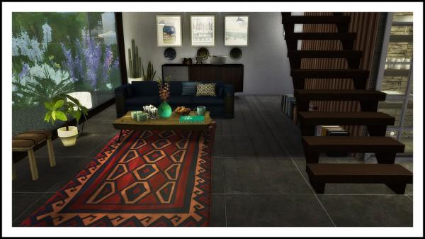 Lafleur 4 Sims: Red Rouz house