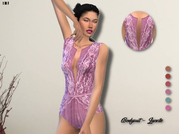 The Sims Resource: Bodysuit   Janelle by IzzieMcFire
