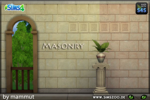 Blackys Sims 4 Zoo: Early Civ 4 light by mammut