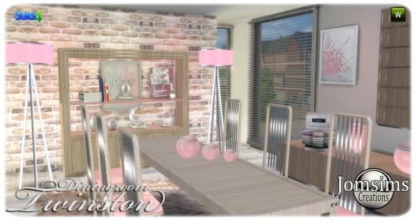 Jom Sims Creations: Twinston livingroom