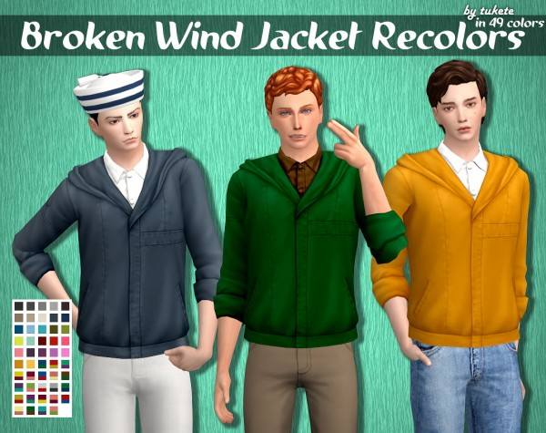 Tukete: Broken Wind Jacket Recolors