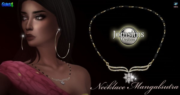 Jom Sims Creations: Mangalsutra Collier
