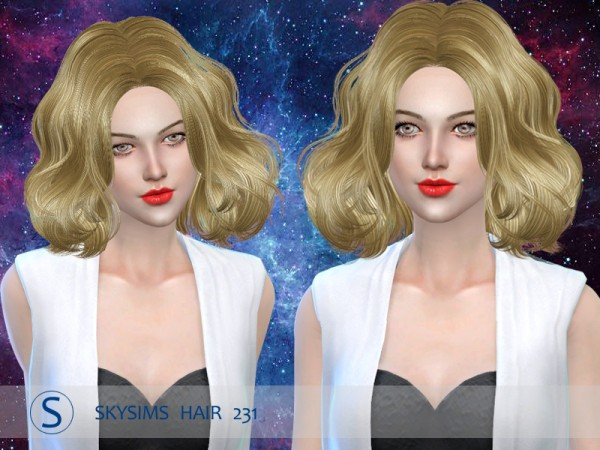 Butterflysims: Skysims 231 donation hairstyle
