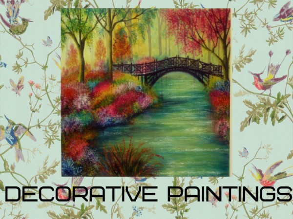 The Sims Resource: Decorative paintings by Satas