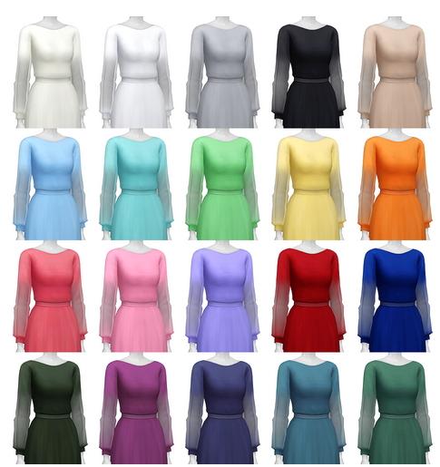 Rusty Nail: See trough long sleeve dress