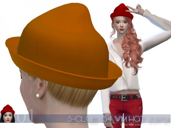 The Sims Resource: Hat 201701 by S Club