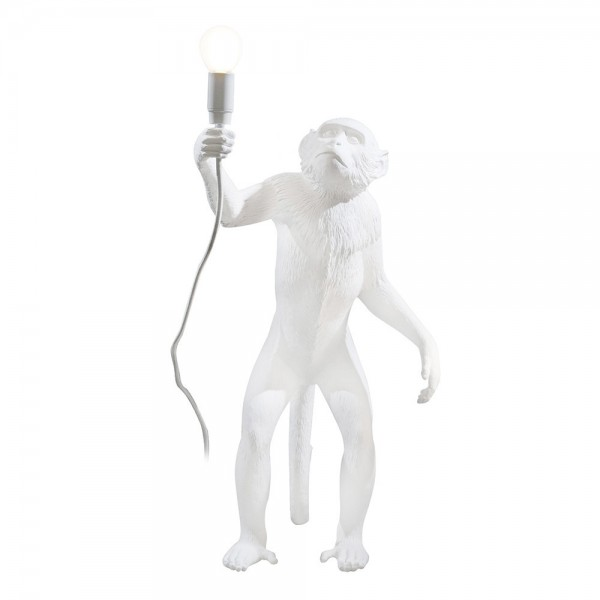 Meinkatz Creations: Monkey Standing Table Lamp by Seletti