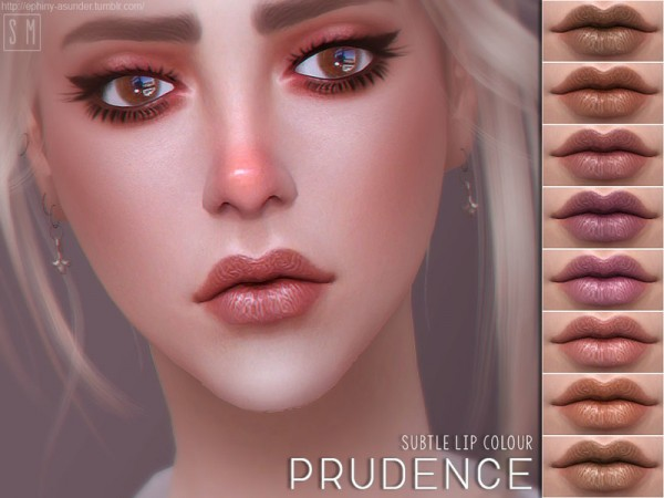 The Sims Resource: Prudence    Subtle Lip Colour by Screaming Mustard