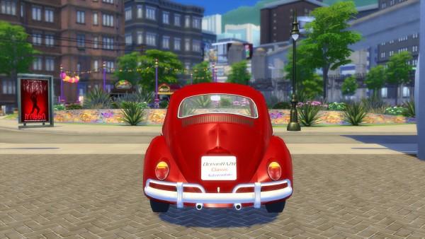 Oceanrazr Volkswagen K 228 Fer Beetle 1200 1962 Update