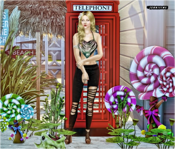Jenni Sims: Set Vol 66 Decoratives (5 Items)