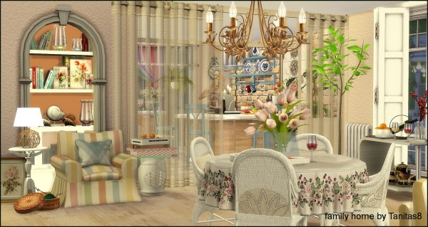 Tanitas Sims: Family home