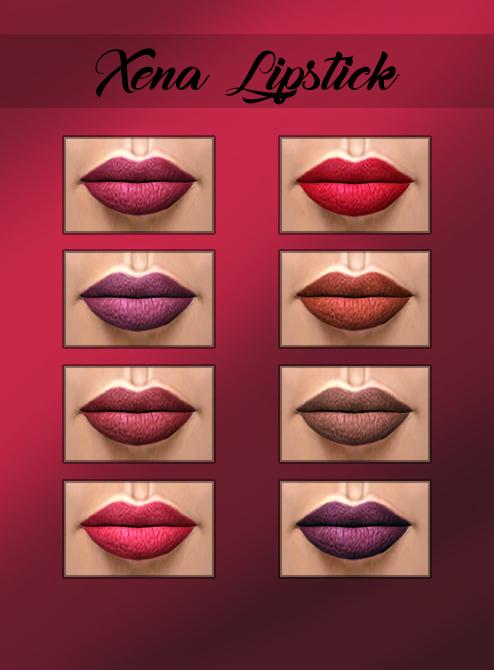 Kenzar Sims: Xena Lipstick
