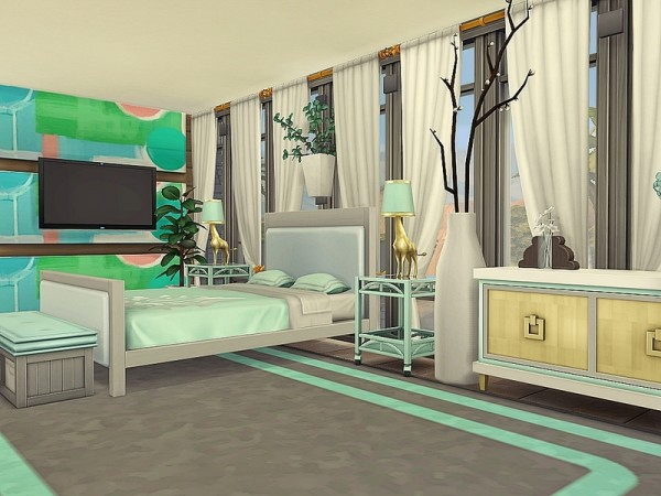 The Sims Resource: OVERLAP house by Nessca