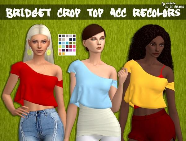 Tukete: Bridget Crop Top Acc Recolors