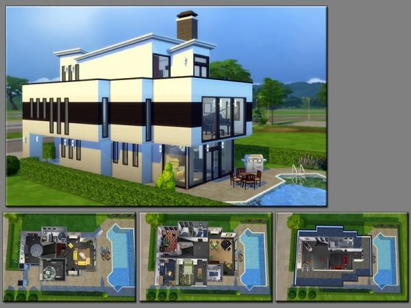 The Sims Resource: Multiple Corners house by matomibotaki
