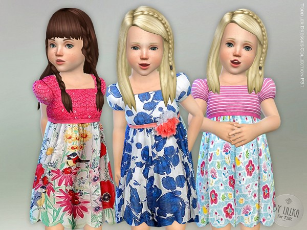 The Sims Resource: Toddler Dresses Collection P31 by lillka