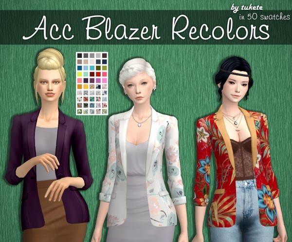 Tukete: Acc Blazer Recolors