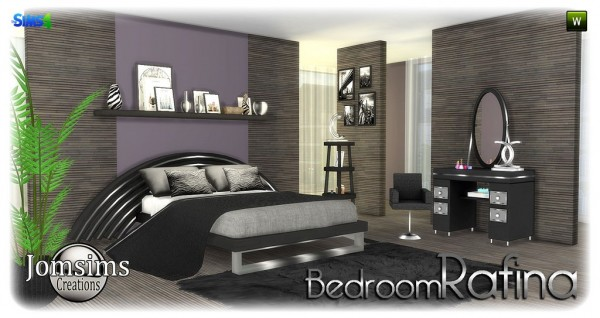 Jom Sims Creations: Rafina bedroom