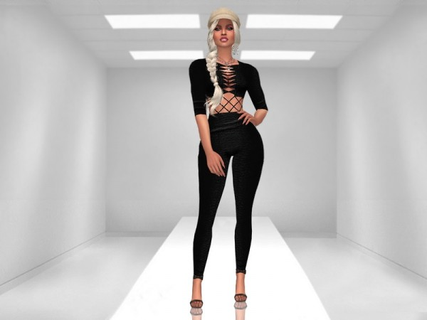 The Sims Resource: Bandage Jumpsuit by MartyP