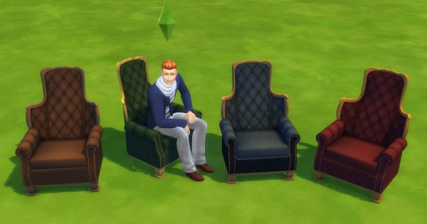 Simsworkshop: Chair Living Univ Reading by BigUglyHag
