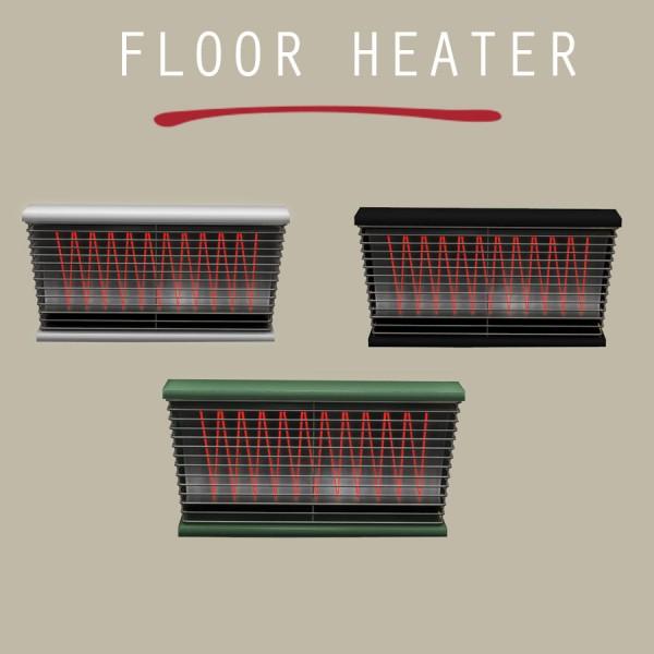 Leo 4 Sims: Floor Heater Lamp