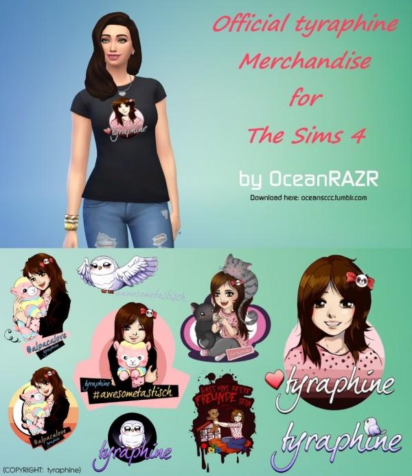 OceanRAZR: Official tyraphine Merchandise T Shirt