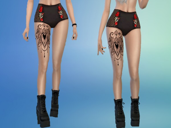 The Sims Resource: Tatto 10 by Satas
