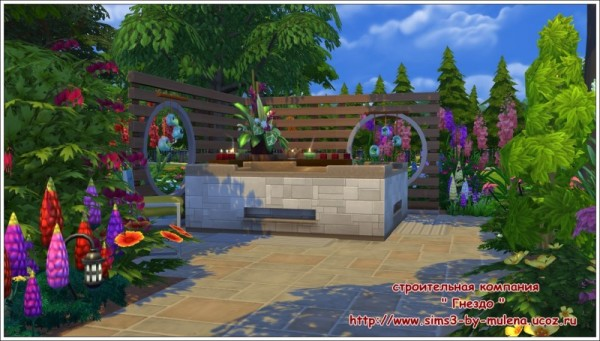 Sims 3 by Mulena: Our courtyard 6