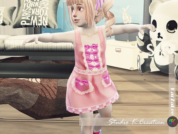 Studio K Creation: Ichigo dress for toddler