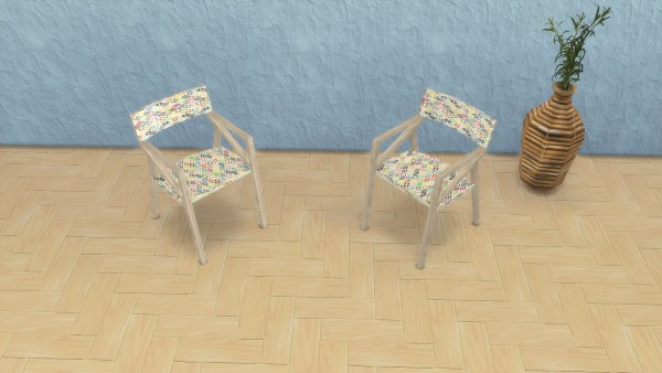 Mod The Sims: The Herringbone Wood Floor Collection by sistafeed