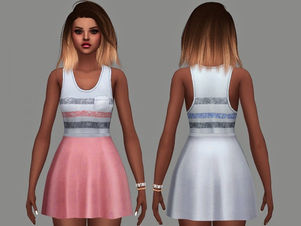 The Sims Resource: Sunya Dress by Margeh 75