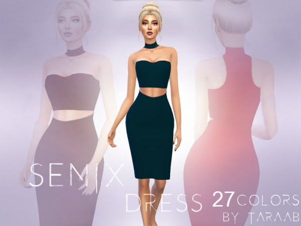 The Sims Resource: Senix Dress by taraab