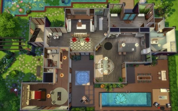 Sims Artists: Kazoku house