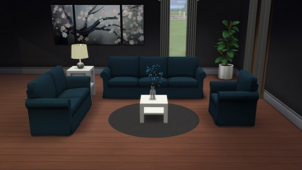 Deelitefulsimmer: Ektorp furniture recolored