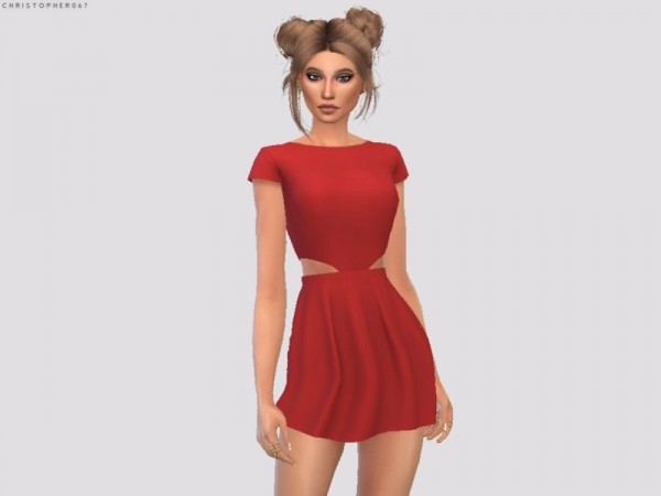 The Sims Resource: Scomiche Dress by Christopher067