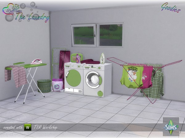 The Sims Resource: The Laundry   Goodies by BuffSumm