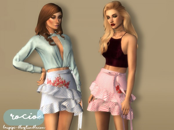 The Sims Resource: Rocio   Skirt by laupipi