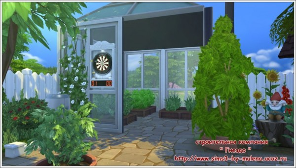 Sims 3 by Mulena: Our courtyard 7