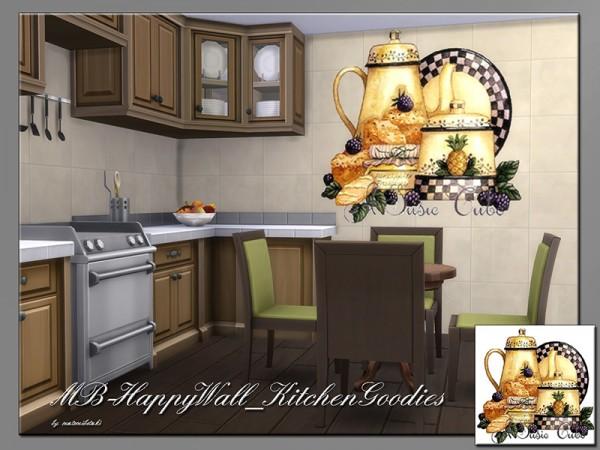 The Sims Resource: Happy Wall Kitchen Goodies by matomibotaki