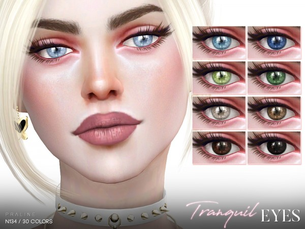 The Sims Resource: Tranquil Eyes N134 by Pralinesims